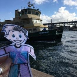 At the Sydney Harbor