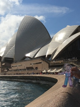 At the Sydney Opera House
