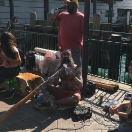 My Aboriginal Friend and his Didgeridoo