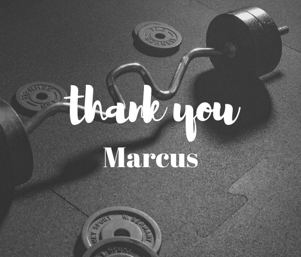 thank you marcus